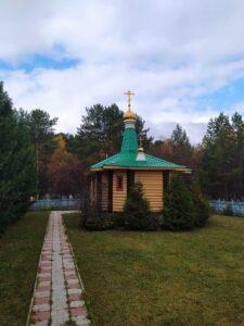 Часовня на Кудряшовском кладбище